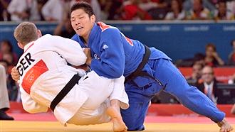 Ким Чже Бум в финале против Бишопа