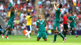 Мексика — Бразилия