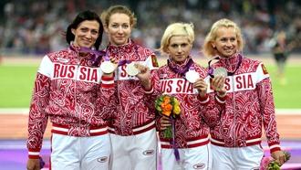 Россиянки с серебром лондонских Игр