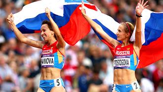 Мария Савинова и Екатерина Поистогова