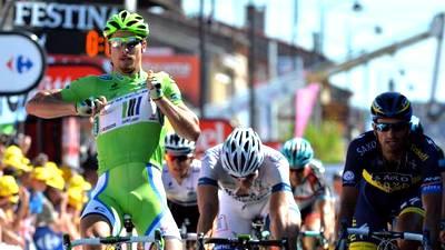 Петер Саган — победитель седьмого этапа