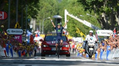 Руи Кошта — победитель транзитного 16-го этапа
