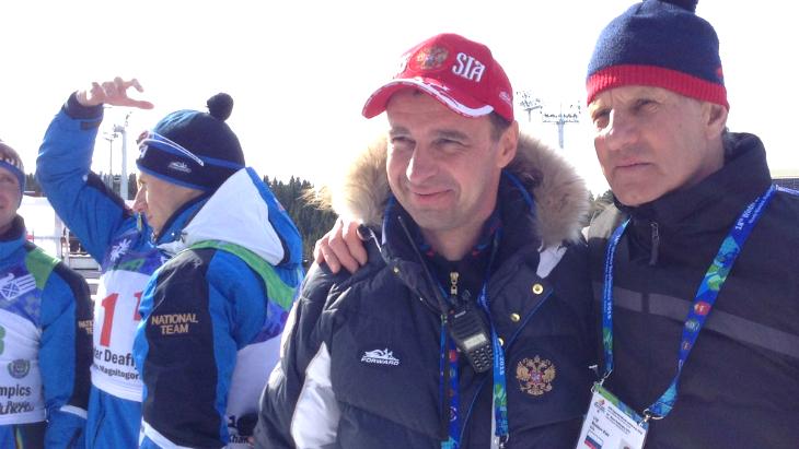 Сергей Крянин (слева)