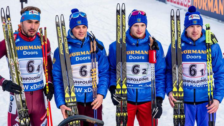Россия — бронзовый призер в мужской эстафете