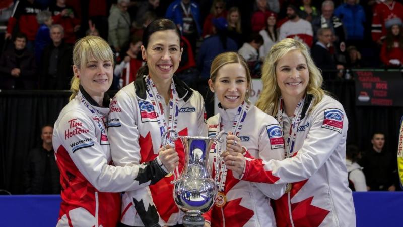 Сборная Канады в 17-й раз завоевала золото на женском ЧМ