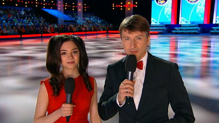 Евгения Медведева и Алексей Ягудин