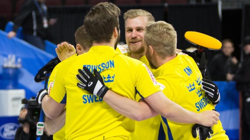 Шведские керлингисты стали чемпионами мира