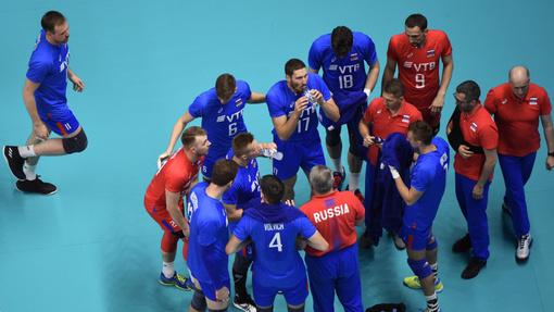 Сборная России по волейболу выиграла Лигу наций