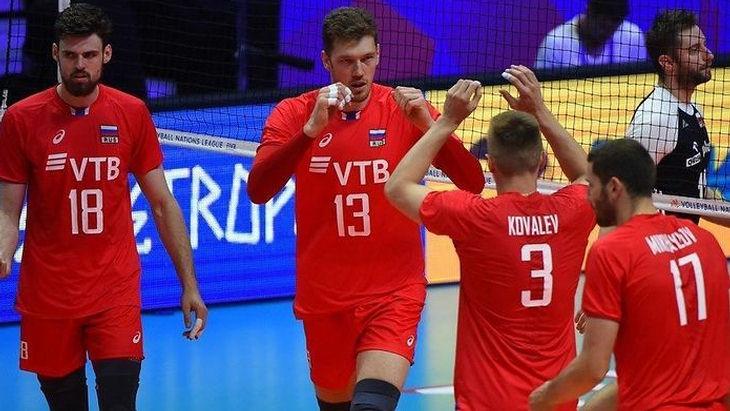 Волейболисты сборной России обыграли Голландию на ЧМ