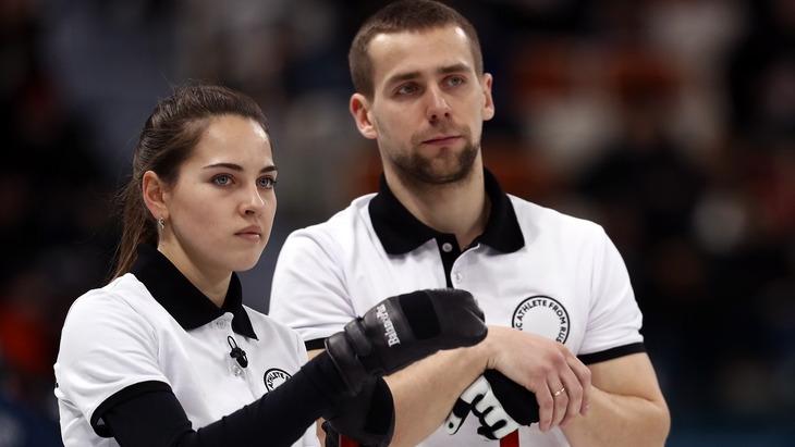 Александр Крушельницкий и Анастасия Брызгалова