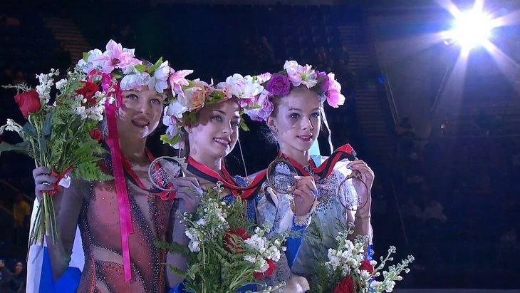 Алена Косторная, Александра Трусова и Алена Канышева