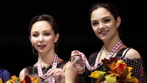 Елизавета Туктамышева и Евгения Медведева