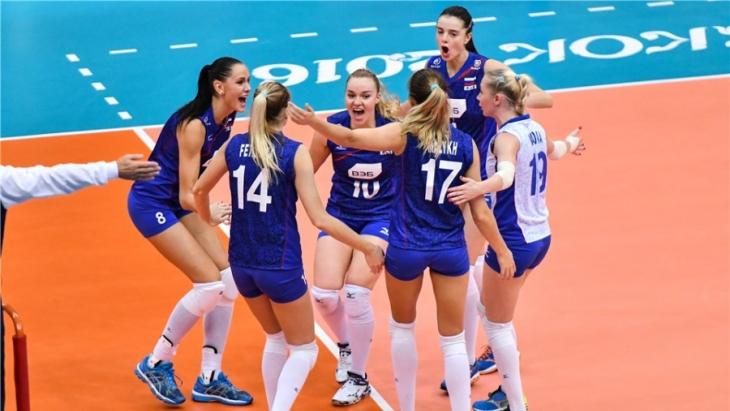 Россия потерпела второе подряд поражение