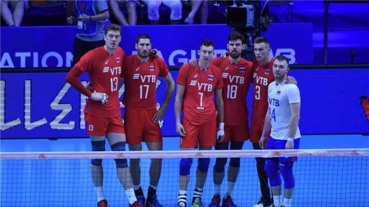 Россия потерпела третье поражение