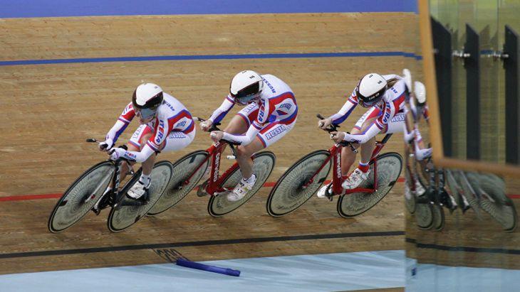 Российские велогонщики стали лучшими в Минске