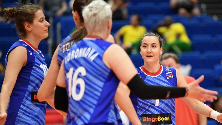 Российский волейболистки
