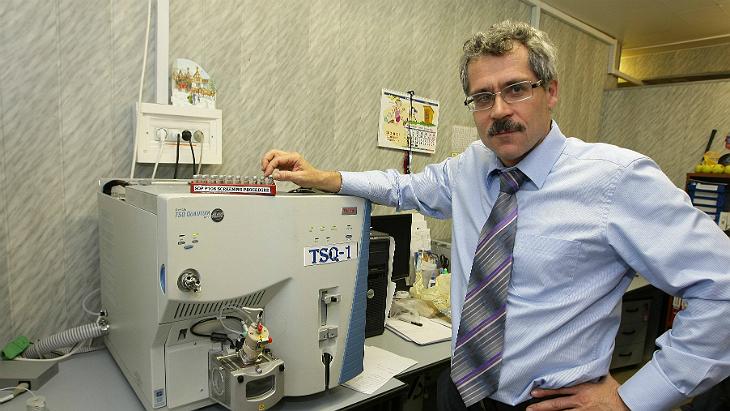 Григорий Родченков в Московской лаборатории