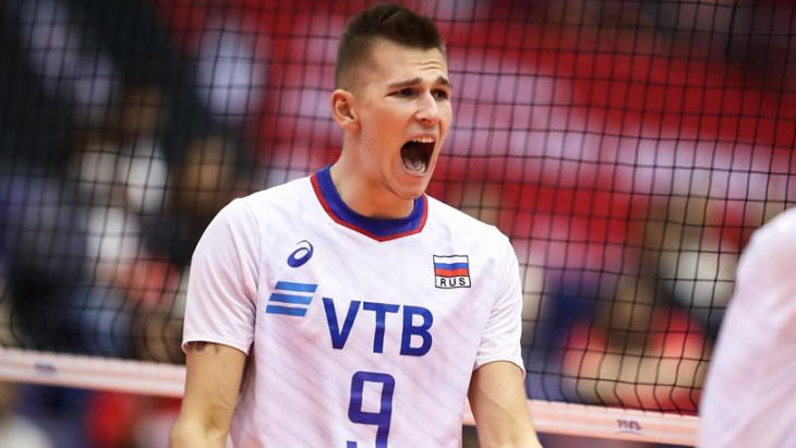 Российский волейболист