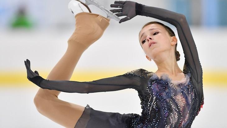 Щербакова с личным рекордом победила в короткой программе на этапе Гран-при в Китае