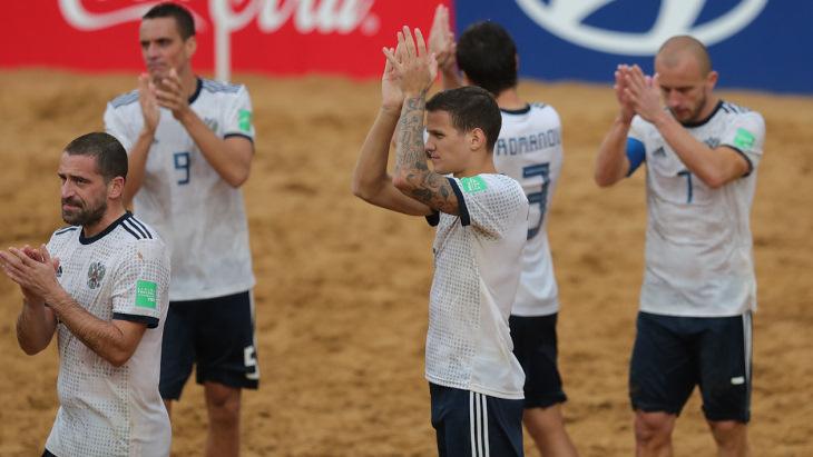 Россия проиграла Италии в полуфинале ЧМ по пляжному футболу