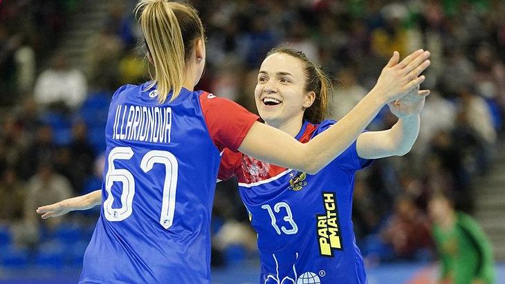 Российские гандболистки победили сборную Аргентины на ЧМ