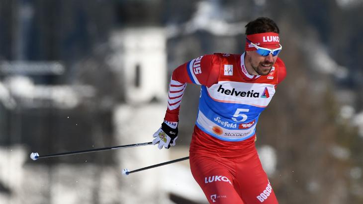 Устюгов занял второе место на этапе КМ в Давосе