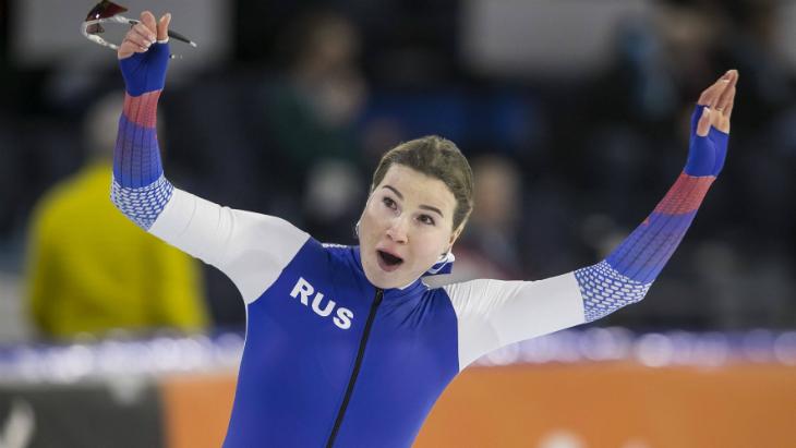 Фаткулина и Кулижников завоевали золото ЧЕ на дистанции 500 м