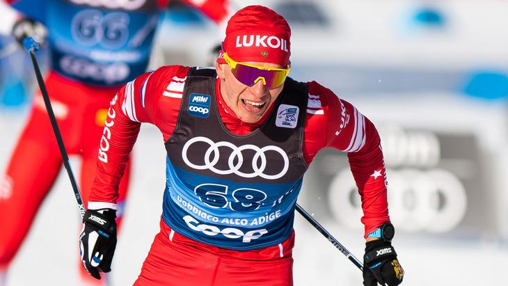 Большунов выиграл гонку преследования на Кубке мира