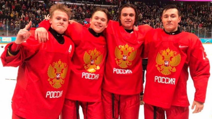 Хоккеисты принесли решающую медаль