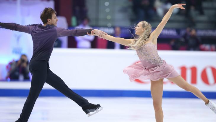 Синицина и Кацалапов — вторые после ритм-танца на ЧЕ-2020