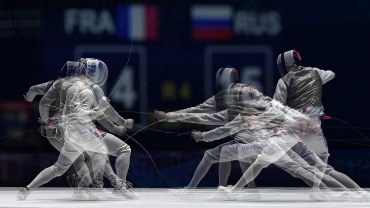 Российские фехтовальщики