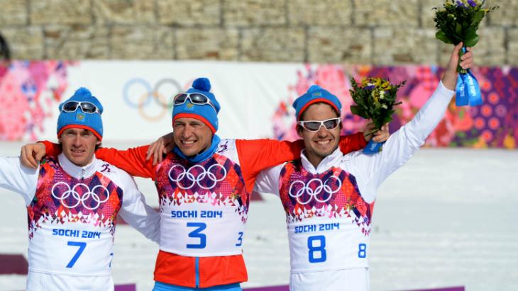 Илья Черноусов (крайний справа)