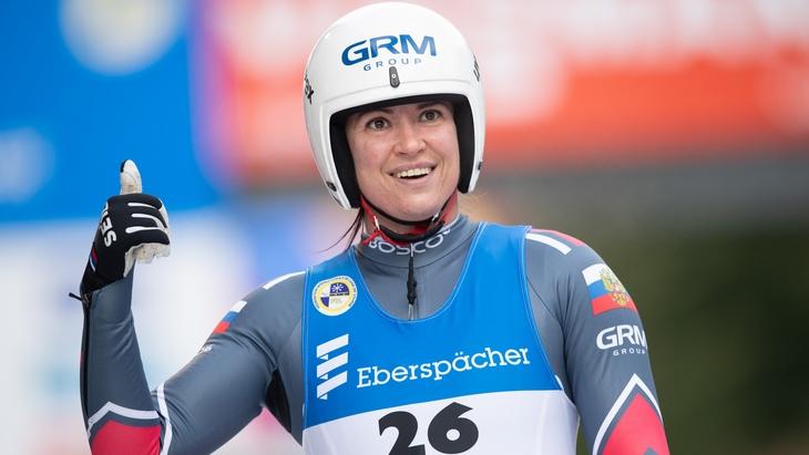 Иванова заняла пятое место на этапе КМ в Оберхофе