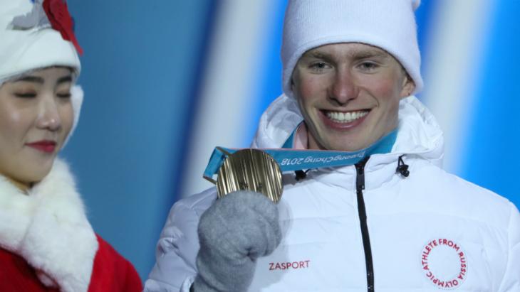 Российские лыжники снова выступят под нейтральным флагом