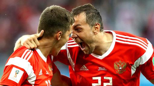 ЧМ-2018. Россия — Египет 3:1