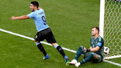 ЧМ-2018. Уругвай — Россия 3:0