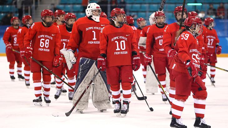 Хоккеистки сборной России уступили Канаде в полуфинале 0:5
