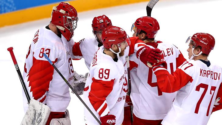 Хоккейная сборная России