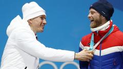Александру Большунову удалось только подержаться за золото на Играх-2018