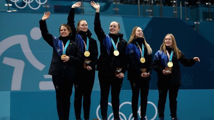 Шведские керлингистки победили Корею в финале ОИ