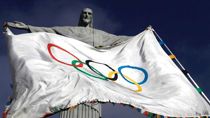 Олимпийский флаг в Рио