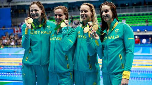 Австралийки завоевали золото