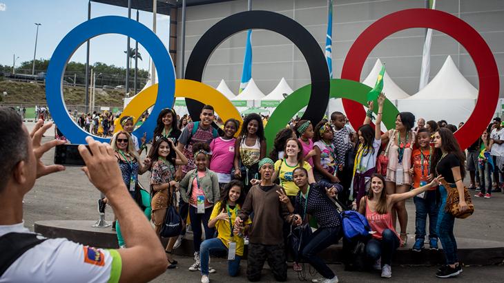 Олимпиада приближается к экватору