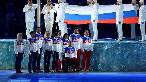 Российские олимпийцы и паралимпийцы