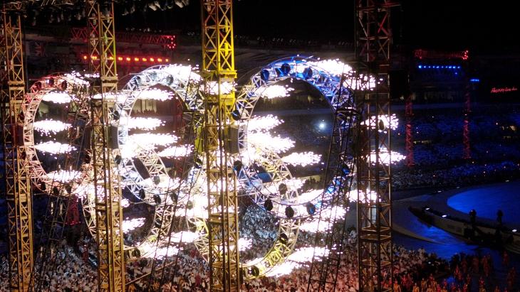 Церемония открытия Игр-2006 в Турине