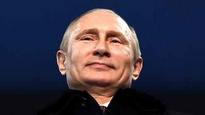 Владимир Путин на церемонии открытия Игр в Сочи
