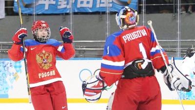 Российские хоккеистки — в четвертьфинале Олимпиады