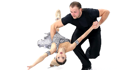 Юрий Ларионов и Вера Базарова