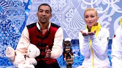 Робин Шолковы и Алена Савченко