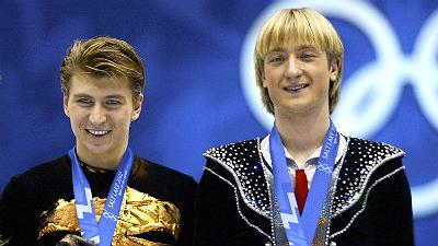 Алексей Ягудин и Евгений Плющенко